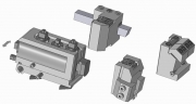 Turret & Dovetail or Square Tool Bit Holders with Axial and Radial Adjustment - Original Type