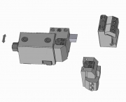 Turret & Dovetail or Square Tool Bit Holders with Angular Adjustment