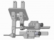 Independent Slide and Actuator for Central Block