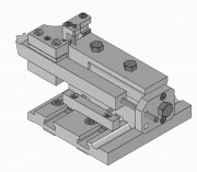Square Bit Toolholder, TS Type, with Axial and Radial Adjustment Suitable for Presetting