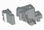 Turret Tight Type with Dovetail or Square Bit Toolholder with Fast Shank