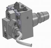 Push Type Recessing Unit - ISO 25 Shank