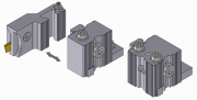 Modular Turrets and Part Off Toolholders