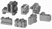 Modular Turret for Dovetails, Flat Dovetails, and Square Bit Toolholders