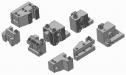 Modular Turrets and Toolholders for Dovetail, Flat Dovetail, Square Bit, and Boring Bar