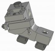 Modular Knee Tool Holder for Central Block