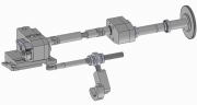Polygon Attachment Slide for Axial Travel