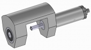 Support with Carbide Bush and Drill Holder